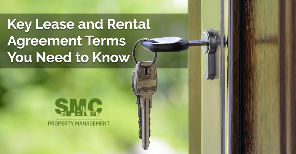 Key Lease And Rental Agreement Terms Smc Property Management
